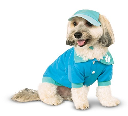 Blue Polo Shirt for Pet, X-Large (Preppy Halloween Costumes)