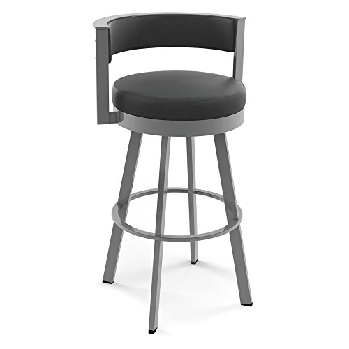 Amisco Browser 26 in. Swivel Counter Stool - Amisco Bar Stools