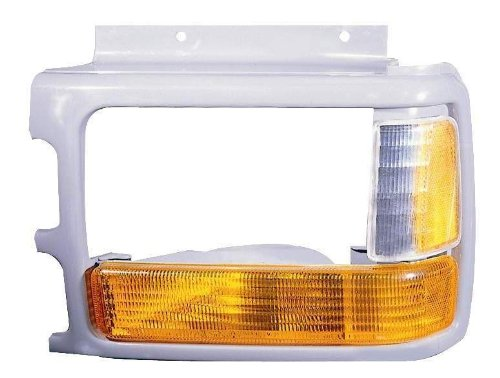 Depo 333-1204R-US6 Dodge Dakota Passenger Side Replacement Parking/Signal Lamp Unit