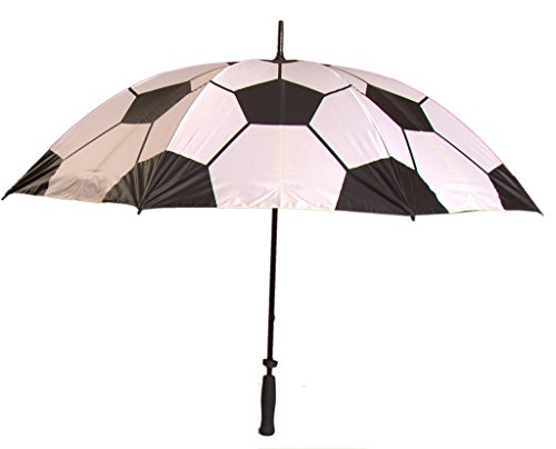 Generic Printed Soccer Sport Umbrella Size 60inch Color Pink by Generic