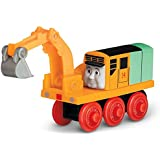Oliver The Excavator - Thomas Wooden Railway Tank Train Engine - Brand New Loose