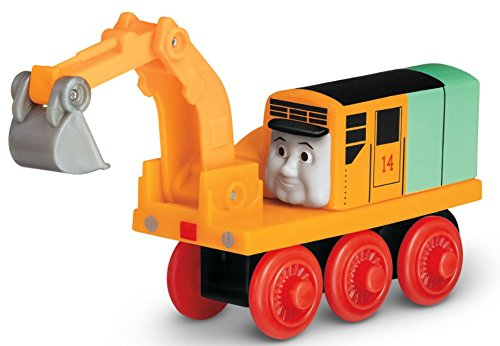 Oliver The Excavator - Thomas Wooden Railway Tank Train Engine - Brand New Loose ()