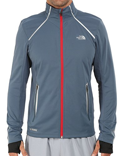 The North Face Isotherm Windstopper Jacket - Men's Conquer Blue, M - North Face Running Jacket
