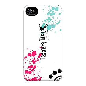 Ideal Curry-cases Case Cover For Iphone 4/4s(blink 182 Band), Protective Stylish Case