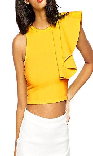 Buy made2envy off shoulder sequin ruffle top jumpsuit