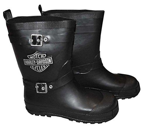 Boys Biker Boots - 8