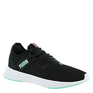 PUMA Women's Radiate XT Sneaker, Blackgreen Glimmer, 9 M US