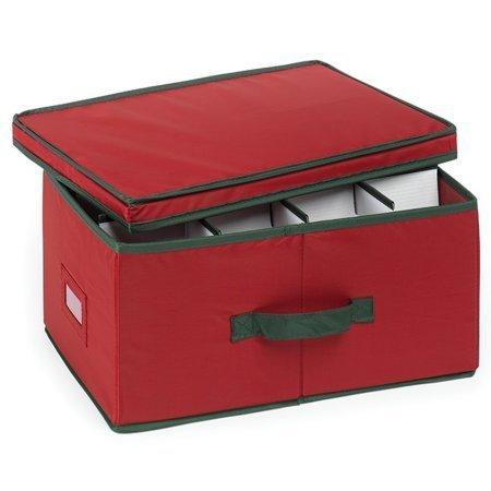 Small Heirloom 24-Ornament Storage Box, 1 Count Generic 5831108EC.01