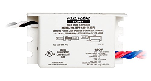 Fulham NPY-120-113-CFL PONY Ballast by Fulham Lighting