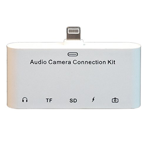Superb Choice Lightning Audio Camera Connection Kit 5 in ...