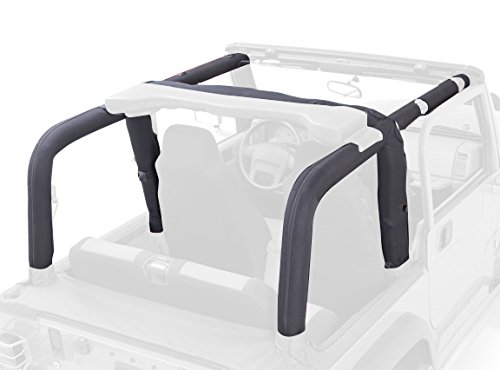 Outland 391361115 Full Roll Bar Cover Kit for Jeep YJ ()