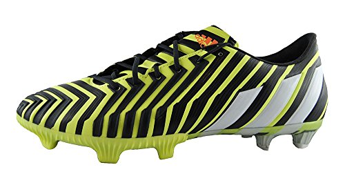 adidas Predator Instinct Firm Ground - Zapatillas de fútbol para hombre Gelb (Light Flash Yellow/White/Dark Grey)