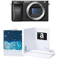 Sony Alpha a6300 Mirrorless Digital Camera (Body Only) w/ $100 Gift Card