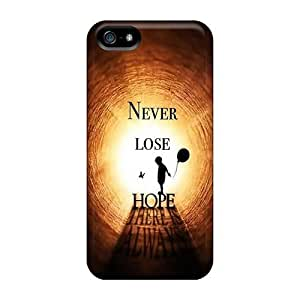 Iphone High Quality Tpu Case/ Never Lose Hope HbgMdos1339xoFjs Case Cover For Iphone 5/5s