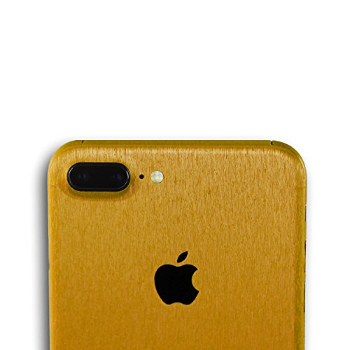 AppSkins Rückseite iPhone 7 PLUS Full Cover - Metal pure gold