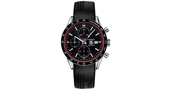 Amazon.com: TAG Heuer Carrera Limited Edition Juan Manuel Fangio Mens Watch CV201Z.FT6014: TAG Heuer: Watches