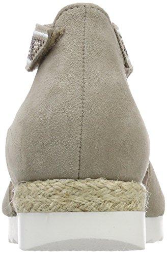 Gabor Vrouwen Comfortabele Sport Strappy Sandals, Blauw Beige (duin (jute / Motief))