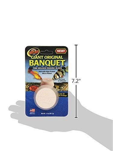 Image of Zoo Med Laboratories AZMBB3 Giant Banquet Block Feeder, 2-Count