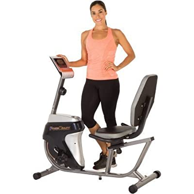 Fitness Reality R4000 Recumbent Exercise Bike with Workout Goal Setting Computer by Fitness Reality