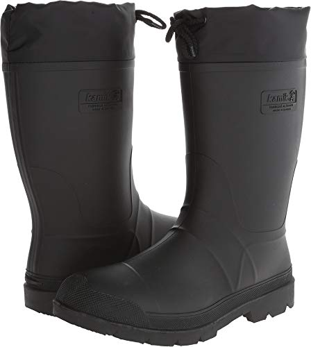 Kamik Men's Hunter Cold Weather Boot,9 DUS,Black