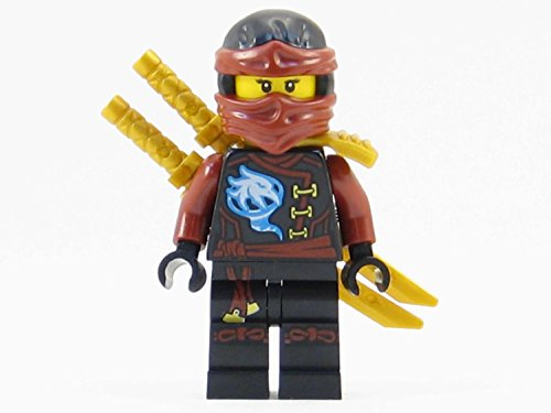 LEGO Ninjago Skybound Nya Dark Red Girl Ninja Minifigure Sky Pirate NEW 2016 -