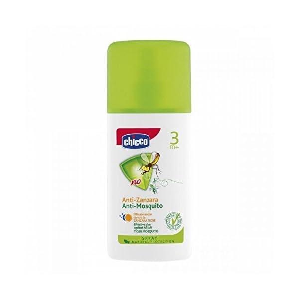 Chicco Spray Anti-Zanzara Doposole con estratto di Eucalipto, formato da 100 ml 1 spesavip