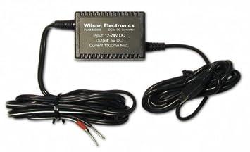 Wilson Electronics 859989 Interior Negro adaptador e inversor de corriente - Fuente de alimentación (12