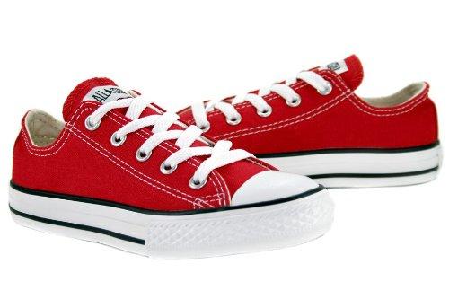 Converse Boys' Tod/Yth Chuck Taylor All Star Ox - Red - 10.5 TOD