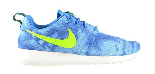86573f8497af Nike Roshe Run Print Men s Shoes Photo Blue Electric Green-Mystic Green-Obsidian  655206-430 (8 D(M) US) - Buy Online in UAE.