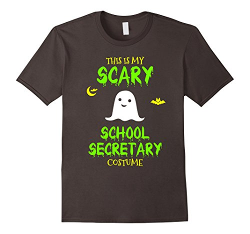 Scary School Secretary Costume Halloween T-Shirt