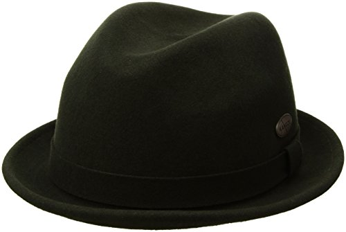 Player Wool Kangol - Kangol Men's LiteFelt Player, A Stylish Upturned Brim Fedora, Forrester (Large)