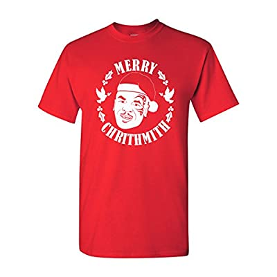 Strange Cargo Mike Tyson Merry Crithmith Funny Christmas Parody T-Shirt