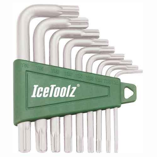 Ice Toolz 9-Piece Torx Wrench Set