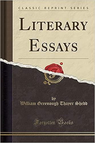 literary essays online