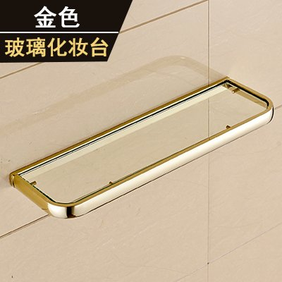 Yomiokla Bathroom Accessories - Kitchen, Toilet, Balcony and Bathroom Metal Towel Ring American minimalist style gold plated classical antique racks mounted in gold (USA) glass dressing table