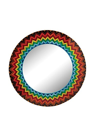 Artistic Lighting Vibrant Starburst Mirror, Multi