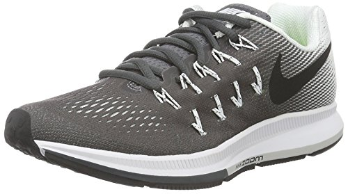 33 De Wmns Femme Gymnastique black dark Gris Zoom Chaussures Nike Pegasus white Grey Air wfBqIq1