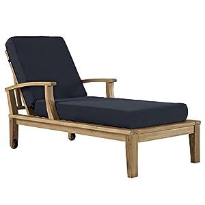411J0Aj04eL._SS300_ Teak Lounge Chairs & Teak Chaise Lounges