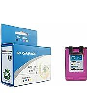 alleda Gerecycleerde inktcartridge voor HP 62XL | 3x meer inhoud | geld-terug-garantie | voor HP Deskjet Officejet Envy (1 cartridge kleur)