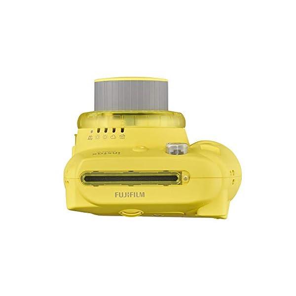 RetinaPix Fujifilm Instax Mini 9 Instant Camera (Clear Yellow)