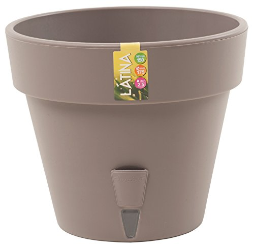 Santino Self Watering Planter Latina 6.9 Inch Shade Flower Pot