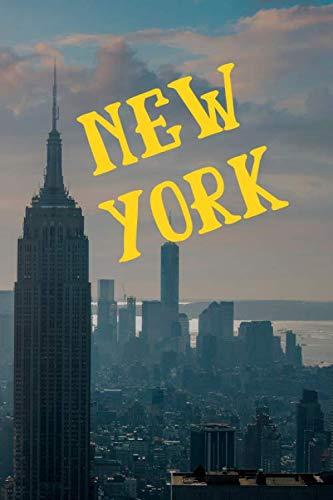 New York: Skyline of Manhattan NY Gifts for Writing and Taking Notes ()