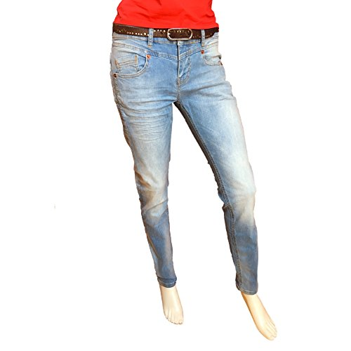 Coupe Femme amp; Att Trust Medium Cintrée Truth Amor Blue Jeans XwvPTqP0x