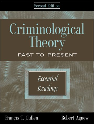 applying a criminological theory on a Introduction: criminological theory and community corrections practice the purpose of this chapter is to provide students with a brief overview of the major theories of crime causation, focusing on the implications of current criminological theories (of crime causation.