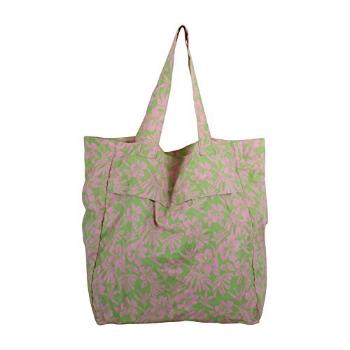 Convertible Tote Pink/Lime Leaf (Backpack Dollar)
