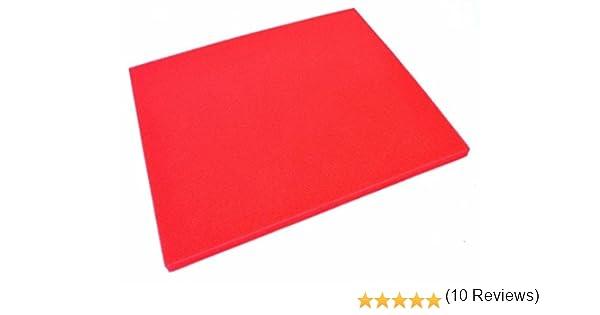 ARTEIN - 48179 : Pliego De Espuma Roja Para Filtro De Aire ...