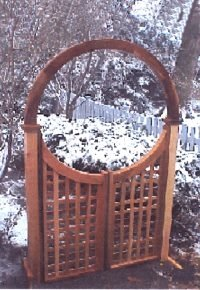 New England Woodworks LATTICE GATE 36 Lattice Gate (Lattice Gate)