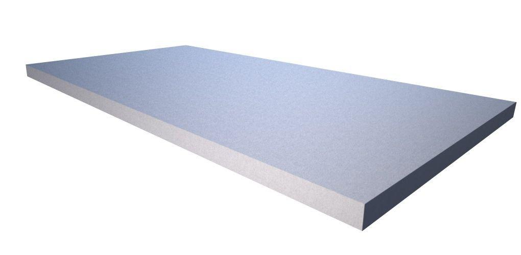 100cm x 50cm x 3cm Akustikschaum Plattenabsorber glatt aus Basotect/® grau