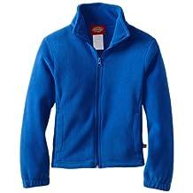 Dickies girls Big Girls Polar-fleece Zip Jacket