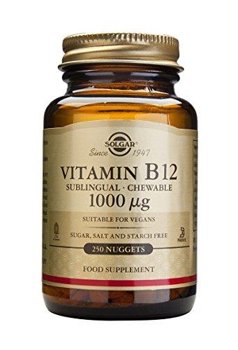 Solgar, Sublingual Vitamin B12 1000 mcg, 250 Nuggets (Sublingual Vitamin B12 1000 Mcg compare prices)